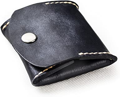 Geniune Leather Coin Pouch Coin Holder small change Organiser Leather Coin Purse Coin wallet Small Leather Coin Pouch Handmade coin holder