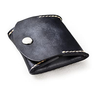 8bfdc02c ANCICRAFT Soft Genuine Leather Coin Purse Change Pouch Wallet By Handmade  Vintage Gift