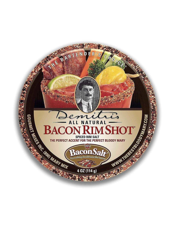 B003YLRJRO Demitri's Bacon RimShot, Spiced Rim Salt, 4 Ounce Tin 81fEfk1uWzL