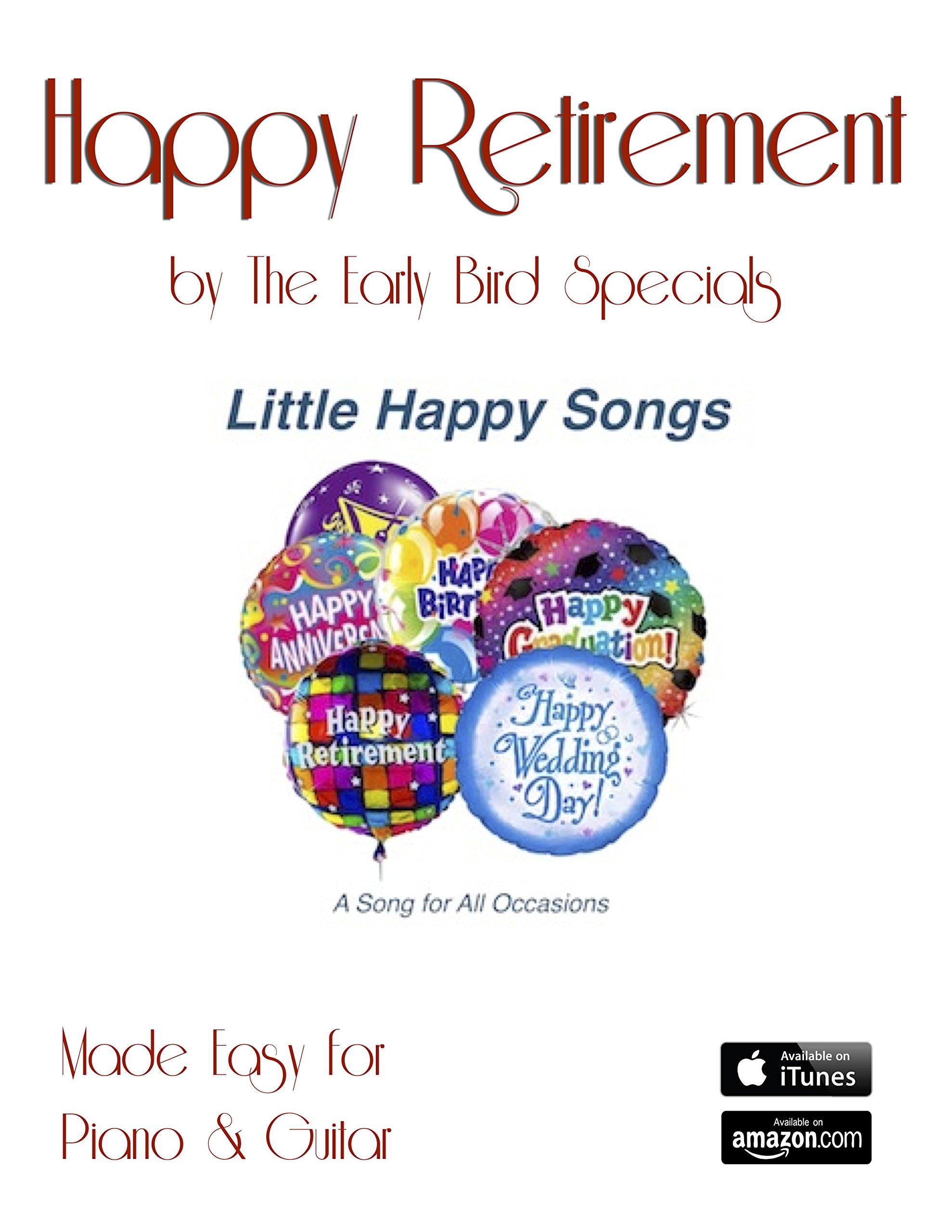 Happy Retirement: Piano/Guitar pdf