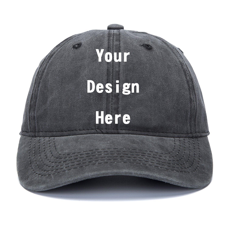 Photos Image Logo Adjustable Hat Hiphop Hat Baseball Cap RR/& DDXU Customize Your Own Design Text