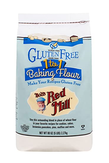 bob's red mill 1 to 1 baking flour bread recipe