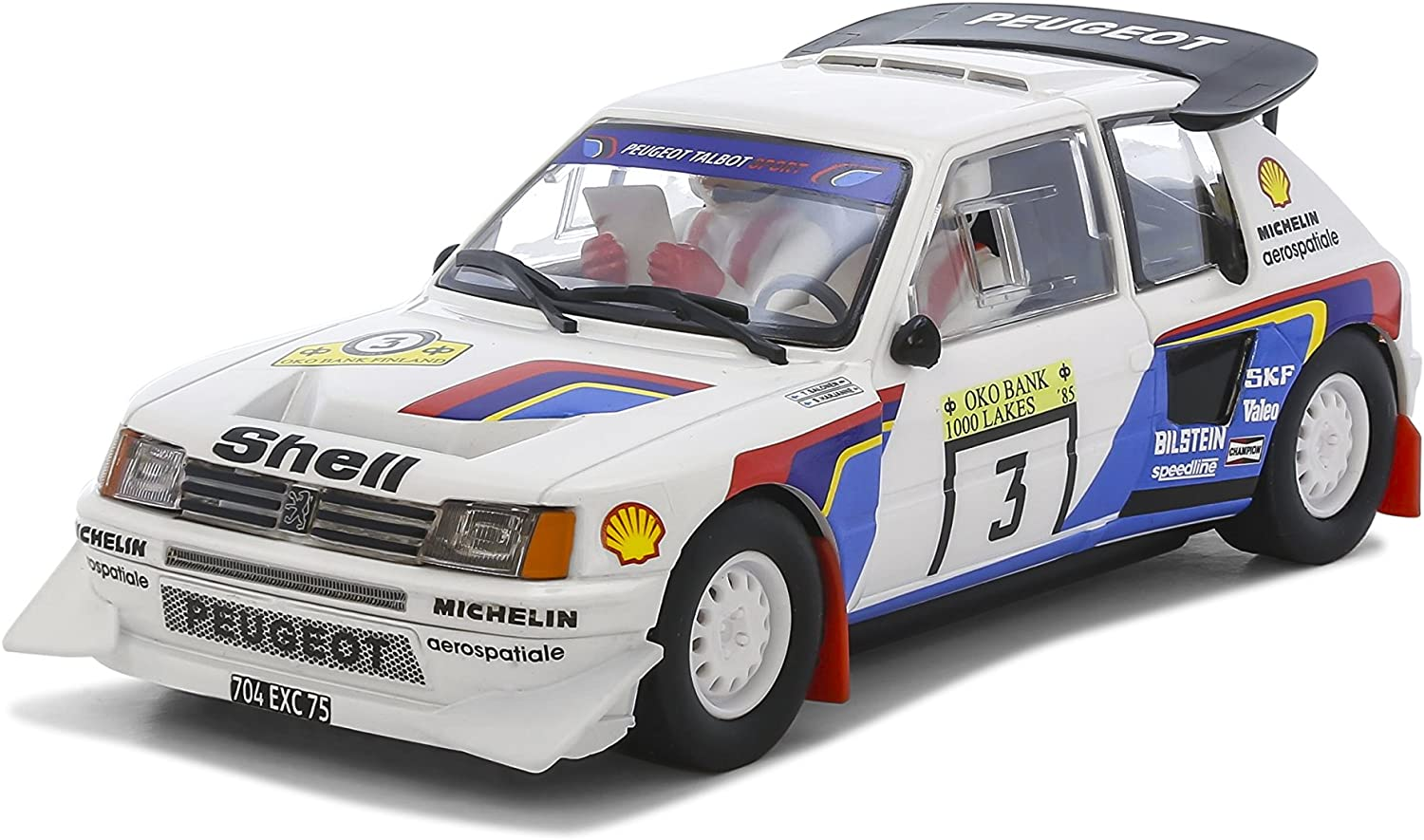 1:32 Scale Scalextric Peugeot 205 T16 Shell Slot Car
