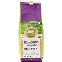 Elworld Organic Brown Sugar - 1kg X 2 (Pack of 2)