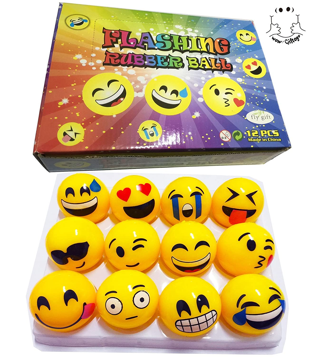 lighting d light in neon happy face balls box up colour products