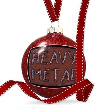 christmas decoration heavy metal welding on rusty metal ornament - Heavy Metal Christmas Decorations