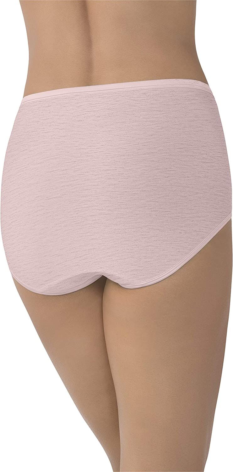 3 pairs Vanity Fair-size 8 Perfectly Yours stretch Briefs 13199 White
