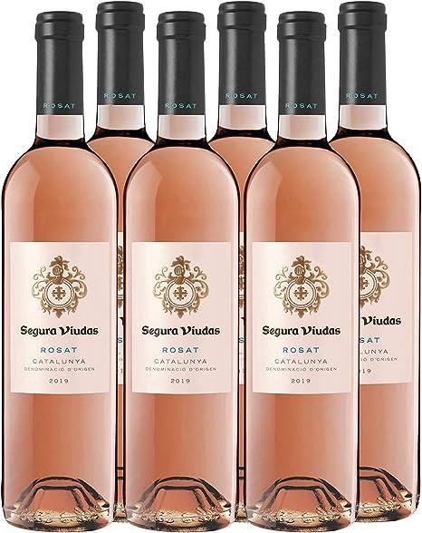 Segura Viudas Vino Rosado pack de 6 - 750 ml: Amazon.es ...