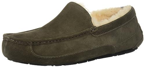 UGG Zapatos Ascot Mocasines Charcoal Hombre 41 Charcoal: Amazon.es: Zapatos y complementos
