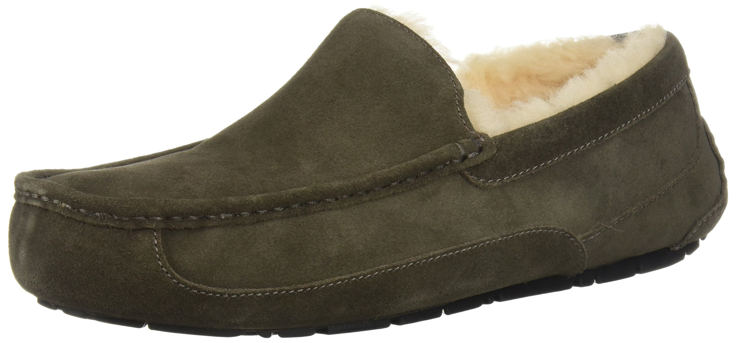 UGG Men's Ascot Slipper, Charcoal, 09 M US
