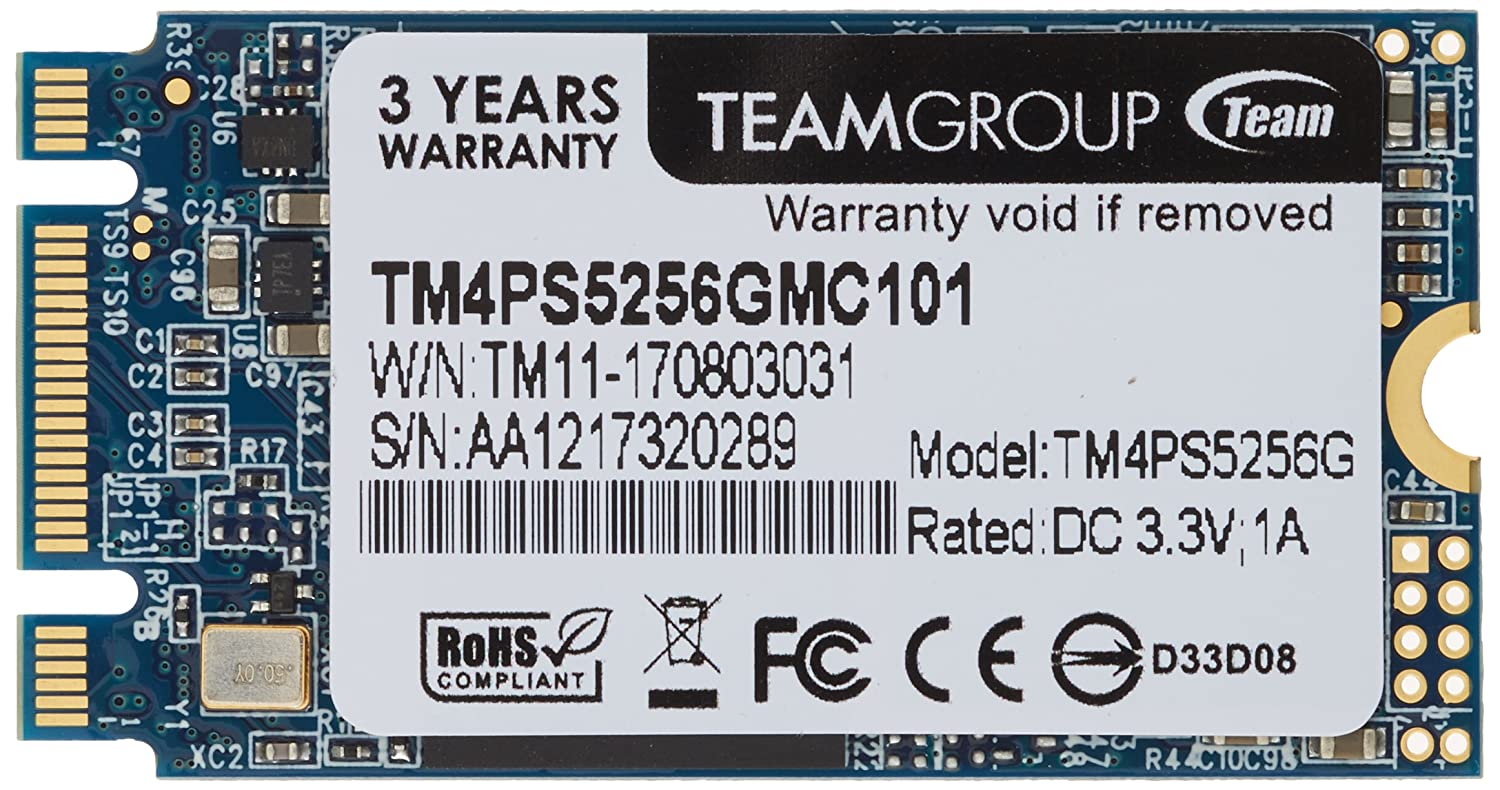 Team tm4ps5256gmc101 SSD M.2 256 GB Lite Type 2242: Amazon.es ...