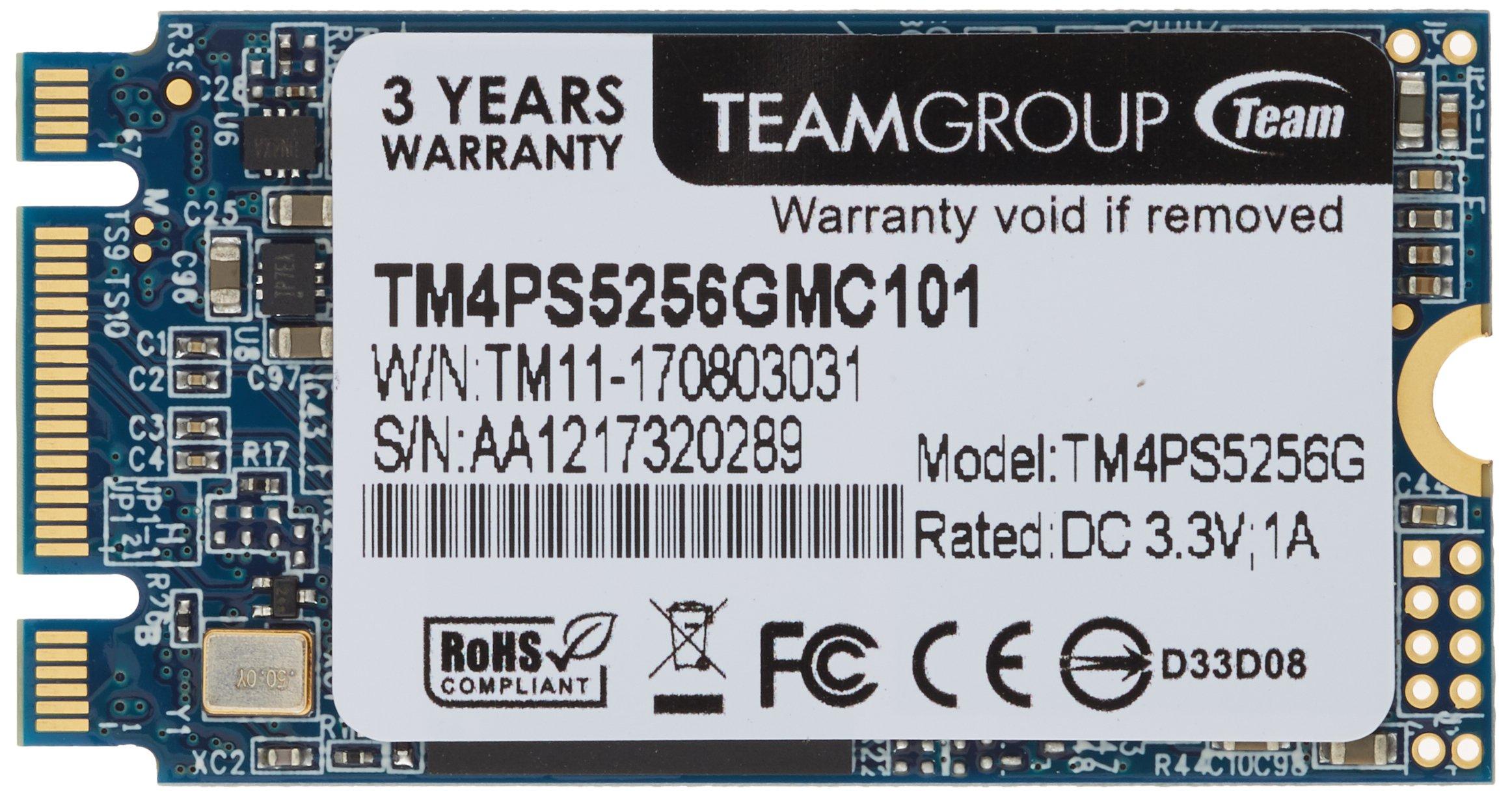 Team TM4PS5256GMC101M.2SSD 256GB Lite Type 2242