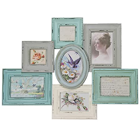 Just Contempo JC Vintage Collage Photo Frame, Wall Hanging ...