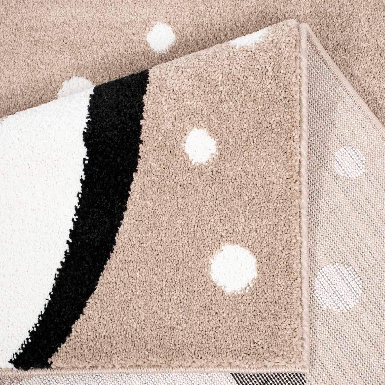 Carpet Carpet Carpet city Kinderteppich Bubble Kids Flachflor mit Wolken-Motiv in Rosa für Kinderzimmer; Größe  120x160 cm B07P12747D Teppiche & Lufer a9f441