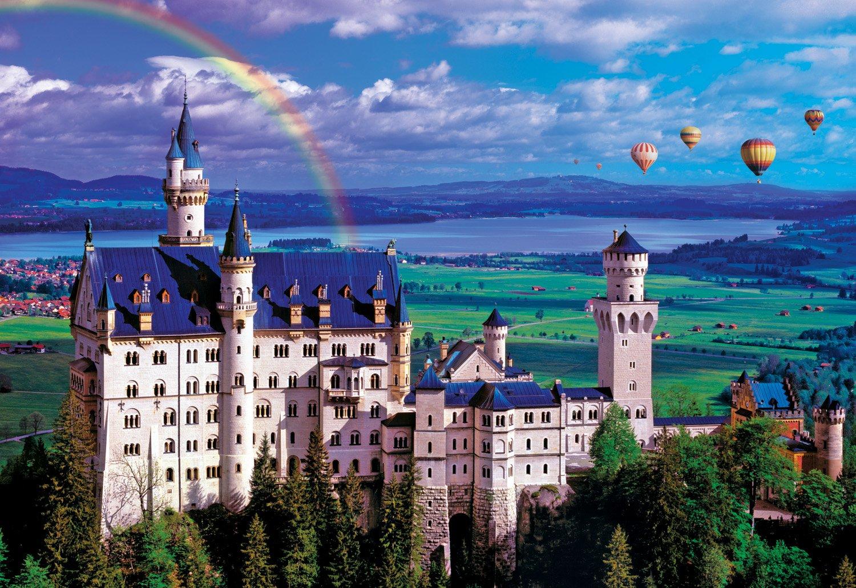 2000-Piece Summer at Neuschwanstein Castle Jigsaw Puzzle