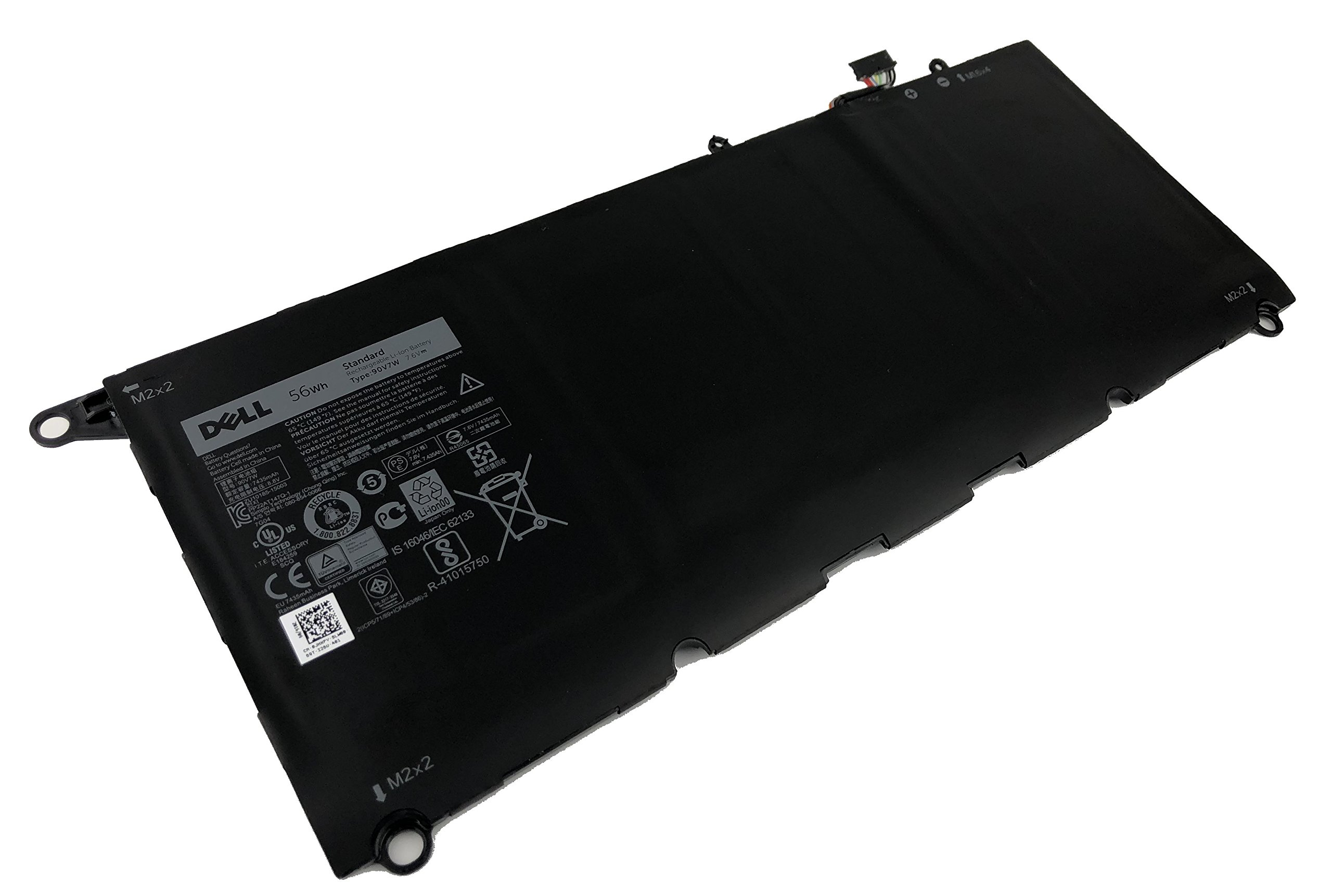 Genuine DELL XPS 13 9350 56Wh 7.6V Laptop Recharable Li-on Battery JHXPY 90V7W