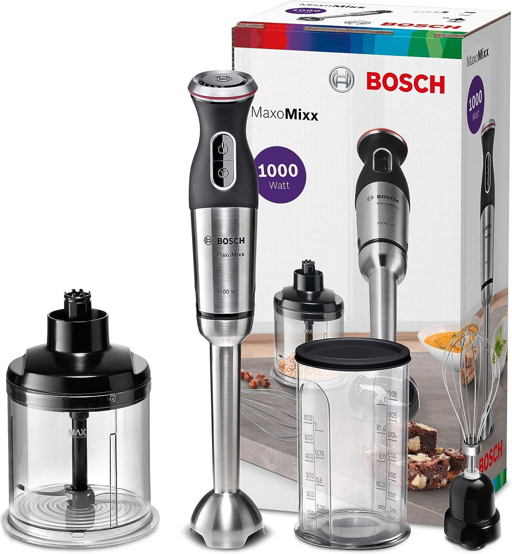 Bosch MSM89160 MaxoMixx Batidora de Mano, Con 3 accesorios, 1000 W ...