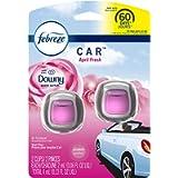 Febreze Car Air Freshener Vent Clips, Downy April Fresh Scent, 2 Count
