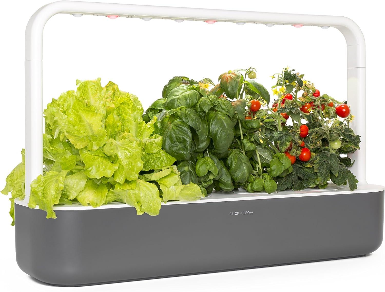 CLICK AND GROW Smart Garden 9 Click And Grow Smart Garden 9, Gris ...