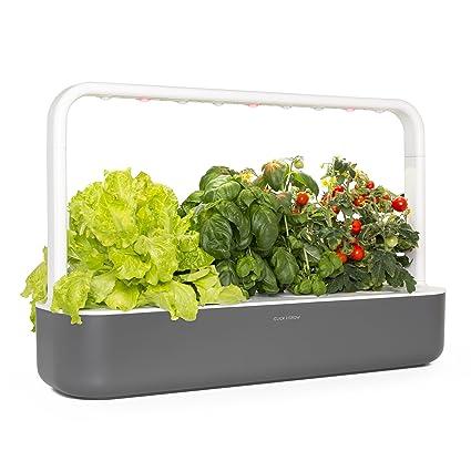 click grow smart garden 9 indoor gardening kit includes plant capsules - Indoor Garden Kit