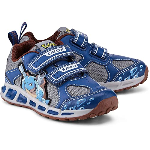 Geox C4054 Navy Yellow Scarpa Bambino Sneakers J8294C  Geox  Amazon.it   Scarpe e borse 644c417d7f7