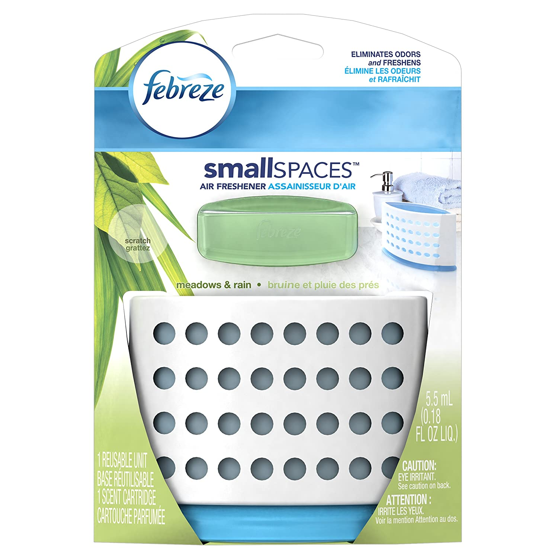 Amazon.com: Febreze SmallSpaces Meadows and Rain Starter Kit Air ...