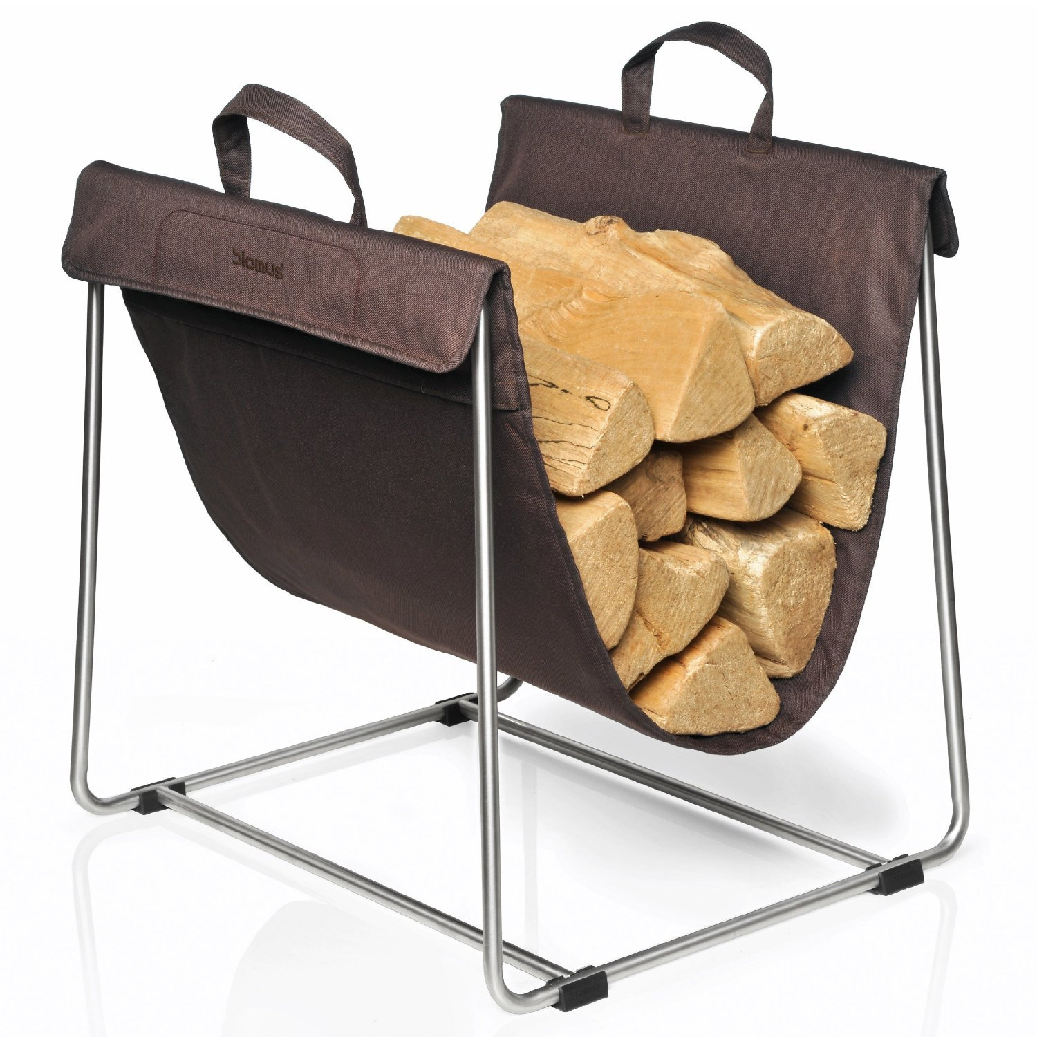 Blomus Madra Log Basket, Brown 65385