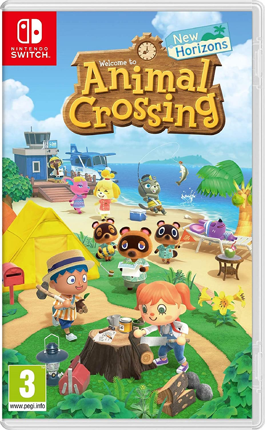 Animal Crossing: New Horizons (Nintendo Switch): Amazon.es ...