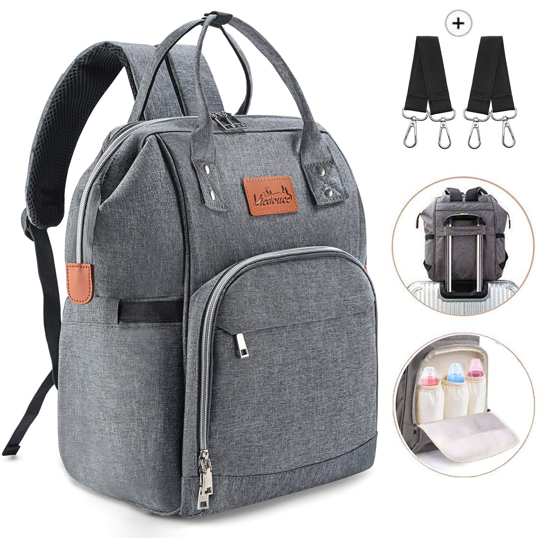 Viedouce Diaper Bag Backpack- Multi-Function