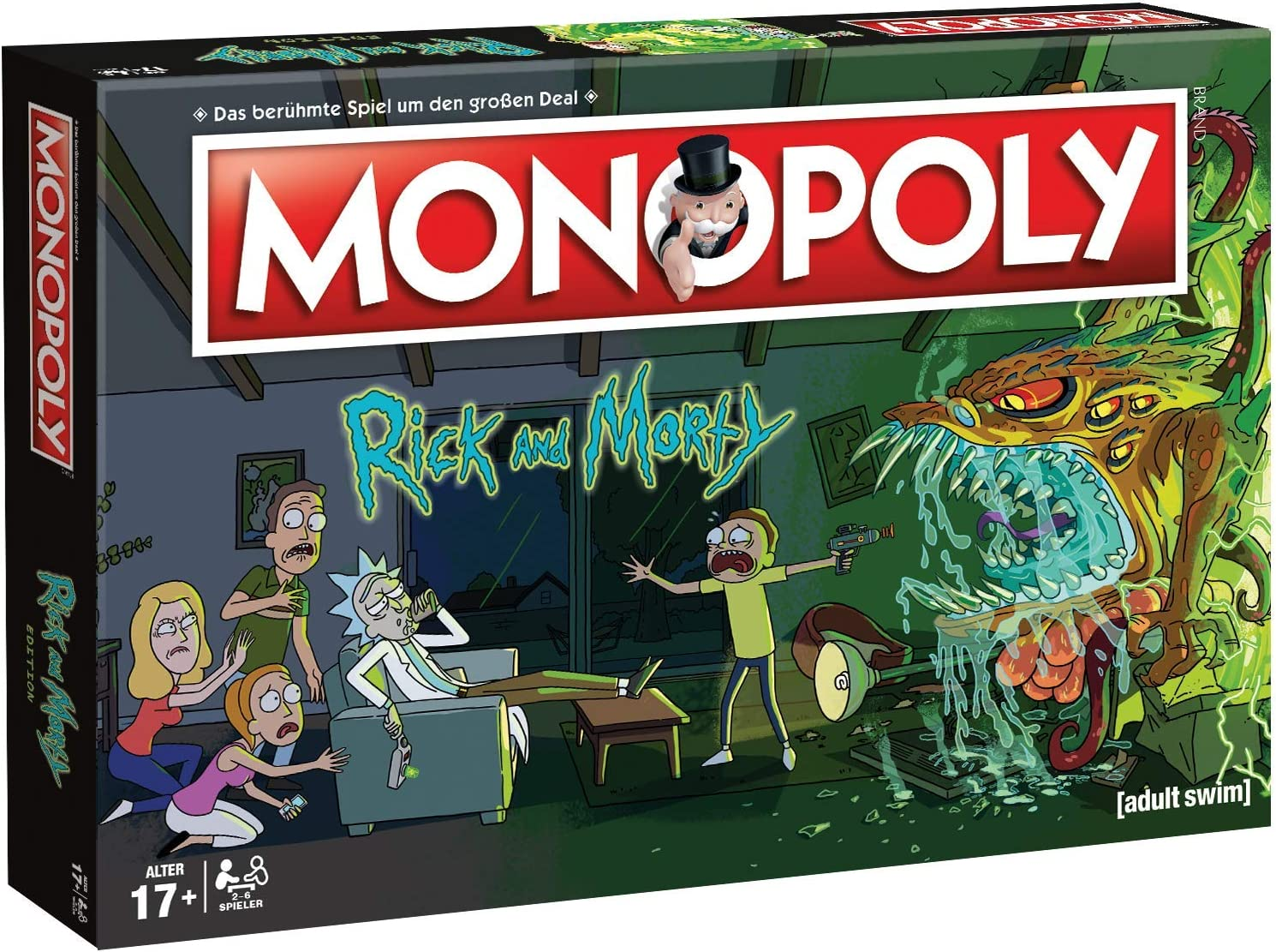 Winning Moves- Monopoly-Rick and Morty Juego de mesa, Color rick & morty, estándar (WIN45069) , color/modelo surtido: Amazon.es: Juguetes y juegos