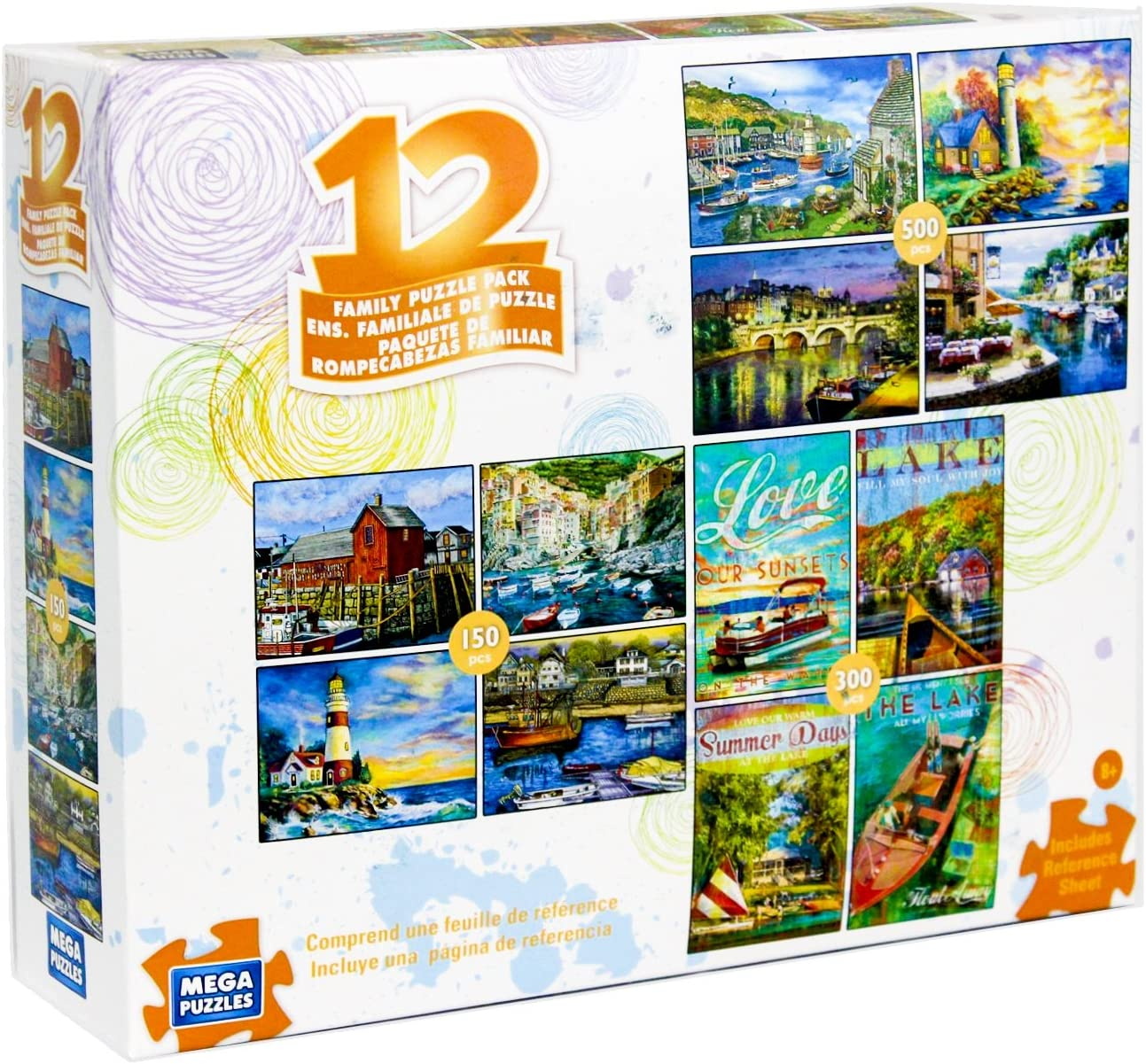 MEGA PUZZLES 300 Large Piece Jigsaw