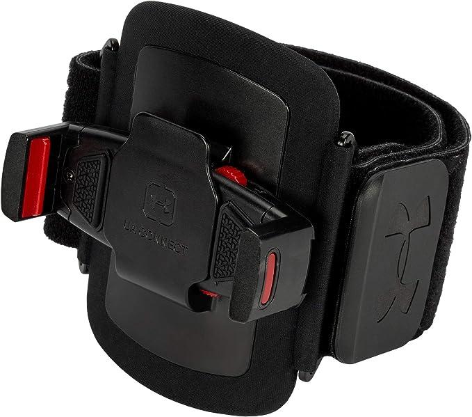 Llevando Mansedumbre recoger  Amazon.com: Under Armour UA Connect Armband - Black/Black