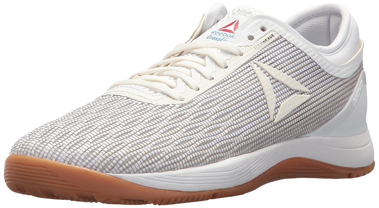 Reebok Women's Crossfit Nano 8.0 Flexweave Cross Trainer B073XB8CZS 5 B(M) US|White/Classic White/Excellent Red/Blue/Gum