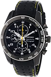 Amazon.com: Seiko Mens SPC045 Sportura Dual Fly-back ...