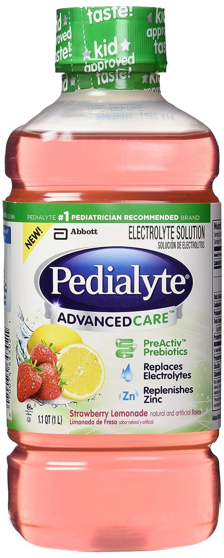 Amazon.com: Pedialyte Electrolyte Solutions, 1 L, AdvancedCare/Strawberry Lemonade: Industrial & Scientific