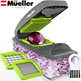 Mueller Austria Onion Chopper Pro Vegetable Chopper - Strongest - 30% Heavier Duty Vegetable Slicer Dicer Cutter with…