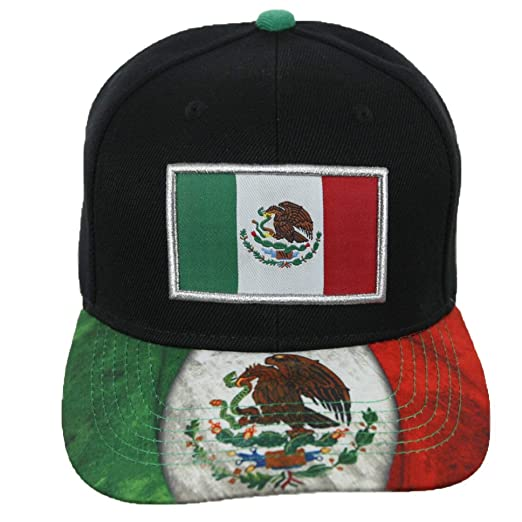 Baseball Cap Mexican Flag Mexico Eagle Hat Snapback Hats Casual Caps