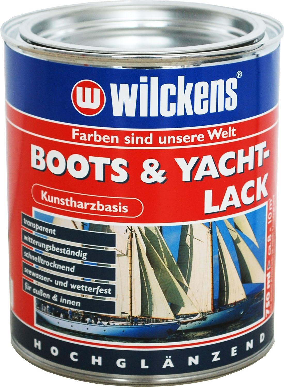 Wilckens Boots und Yachtlack, farblos, 750 ml 11500000050 Eco