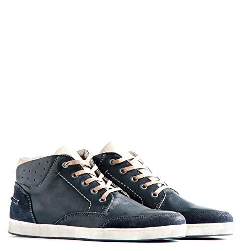 a9ea75e6811b0f Travelin  Newport Chukka Boots Lace-Up Shoes Men s Low Shoes Sneakers Men  Casual Shoes Leather Shoes in Blue UK 9  Amazon.co.uk  Shoes   Bags