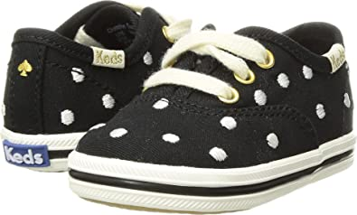 3f8e2131a7e1 Keds Kids Baby Girl's For Kate Spade Champion Seasonal Crib (Infant/Toddler)  Black