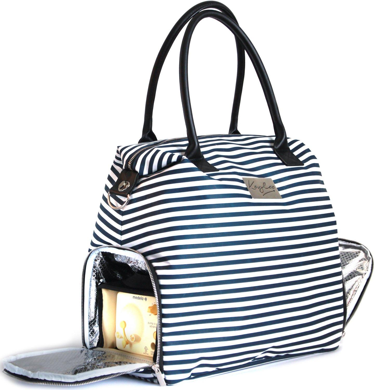 Kaylaa Premium Breast Pump Bag (Luxury Stripe) by Kaylaa (Image #2)