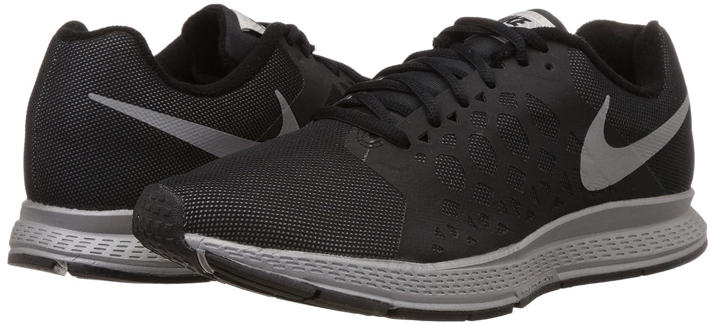 Nike Zoom Pegasus 31 Los Zapatos Corrientes De Los Hombres De Flash (negro) Cd 6PeDZXV