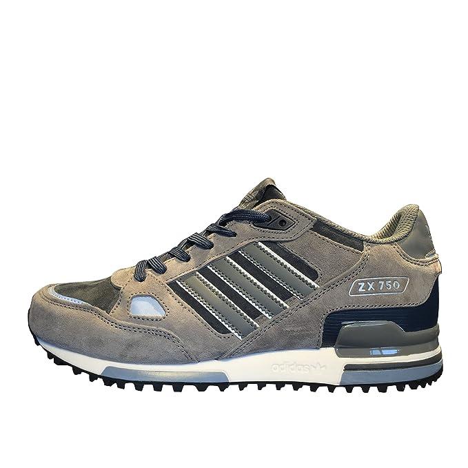 59a2c6cf43f6c best price adidas zx 750 womens casual running shoes bb2714 grey black  8c7b2 f3f75