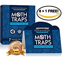 Moth Busters Pantry Moth trampas de feromonas profesional
