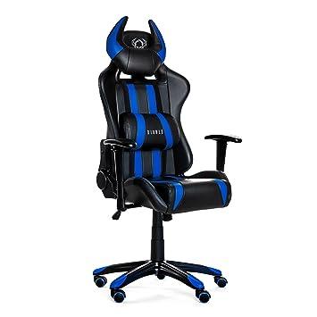 Diablo X-One Horn Gaming Stuhl Bürostuhl Wippfunktion verstellbare ...