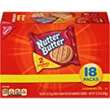 Nutter Butter Peanut Butter Sandwich Cookies - Snack Packs, 18 Count Box, 15.75 Ounce
