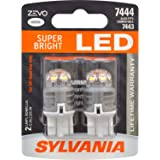 SYLVANIA - 7444 T20 ZEVO LED White Bulb - Bright LED Bulb, Ideal for Daytime