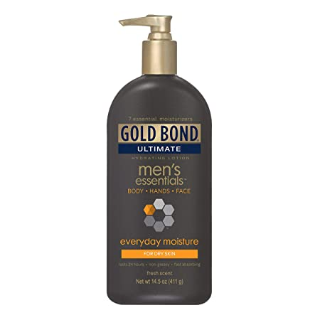 Gold Bond Ultimate Men s Essentials Hydrating Lotion 14.50 oz Pack of 3
