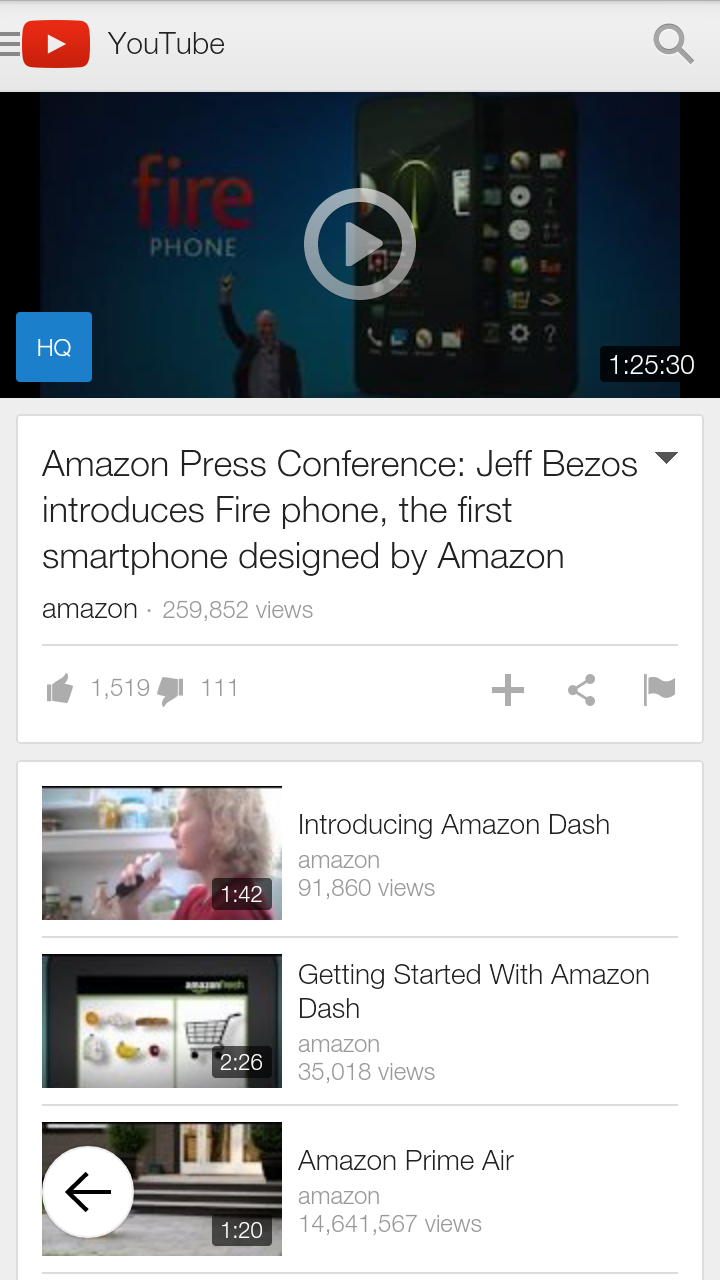 Amazon.com: YouTube: Appstore for Android