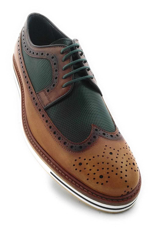 Zerimar Lederschuh Schuhe für Herren Schuhe Elegant Herren